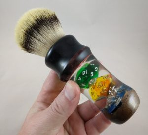 Gamer's Shaving Brush