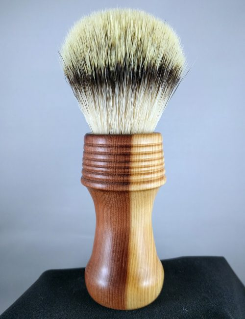 Red Cedar Shaving Brush with Synthetic Knot