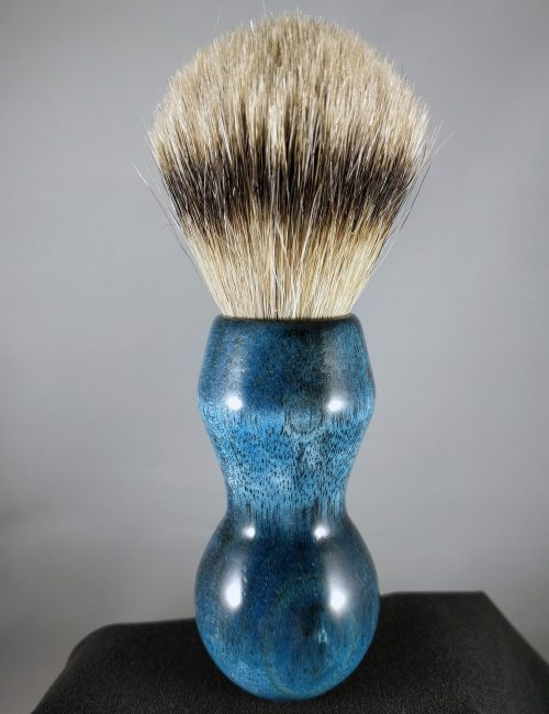 Blue Ficus Shave Brush