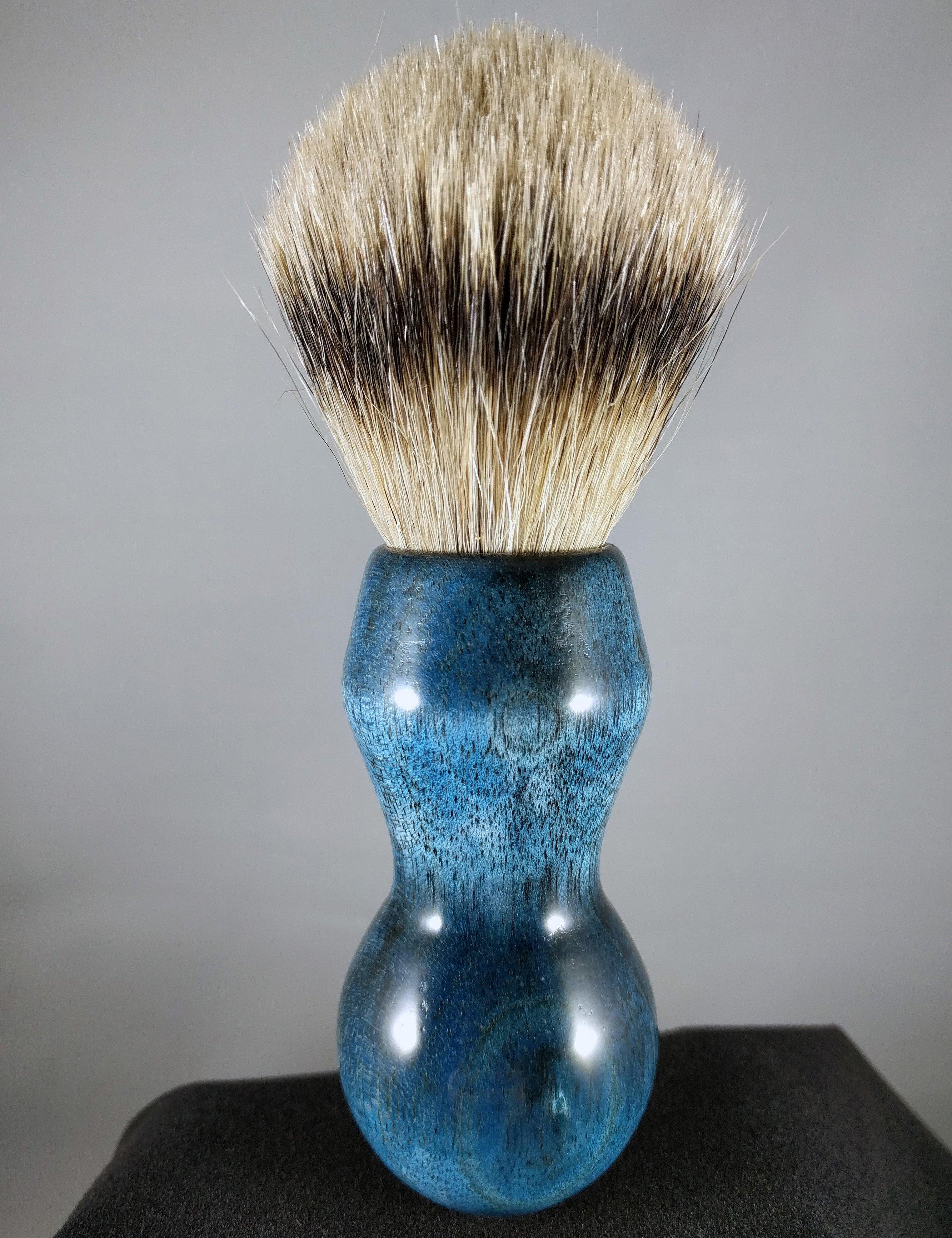 Blue Ficus Shave Brush